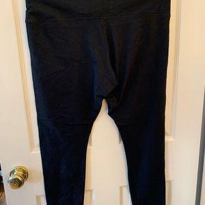 Black Lysse full length leggings